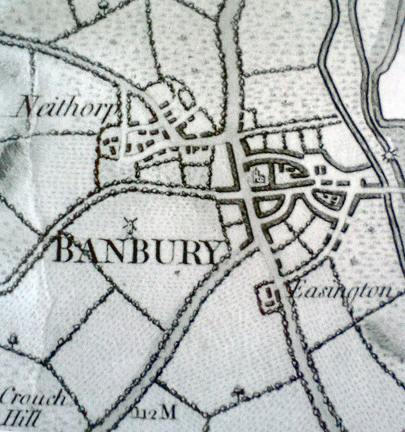 banbury maps side by side